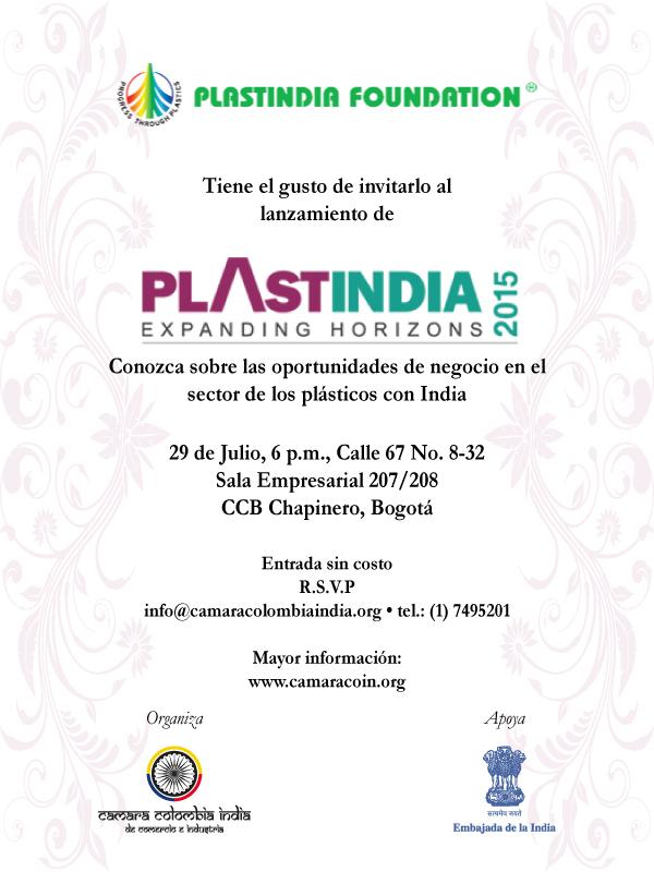Invitación Plastindia 2015